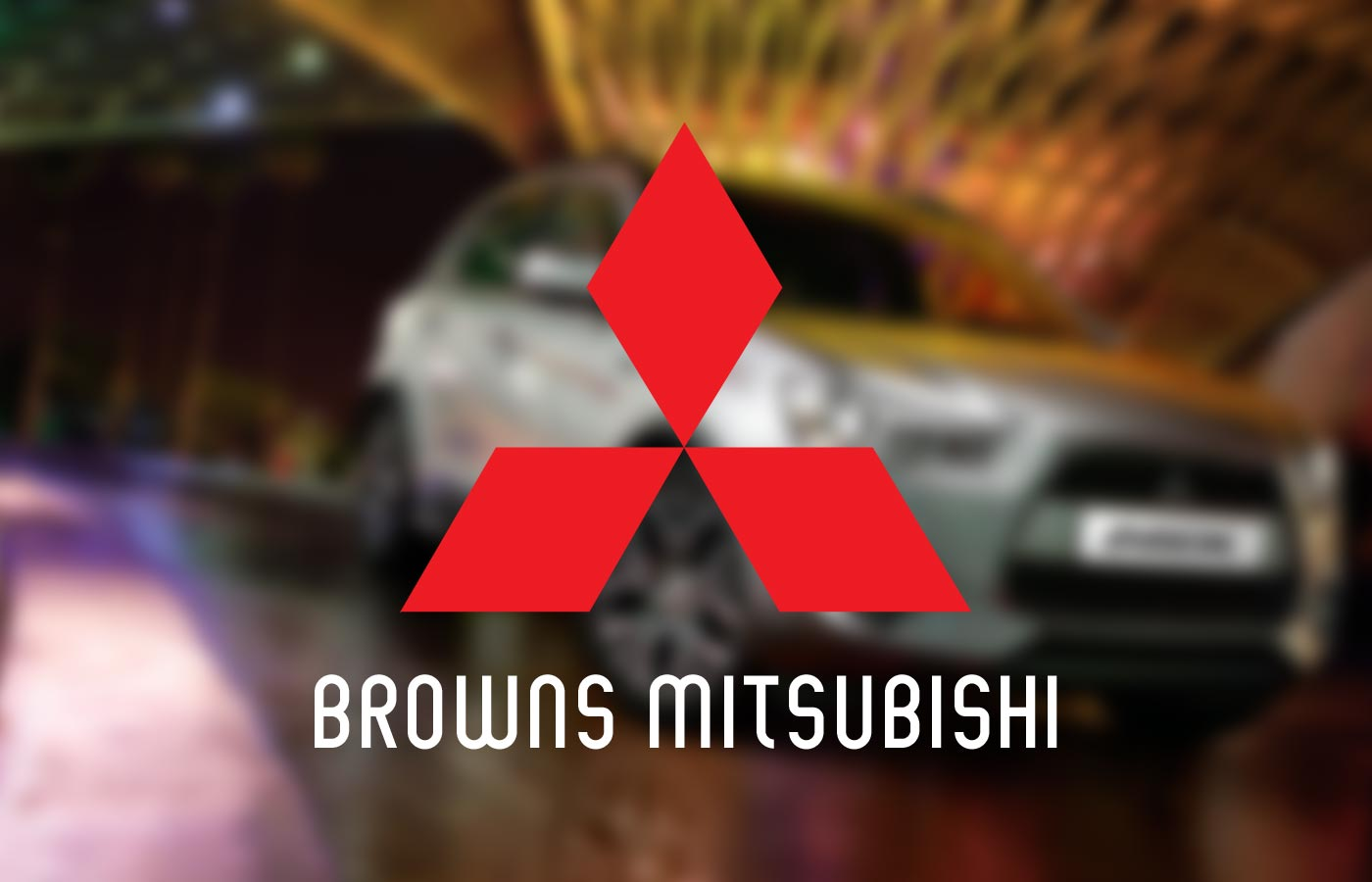 Browns Mitsubishi Advertising Campaign Design