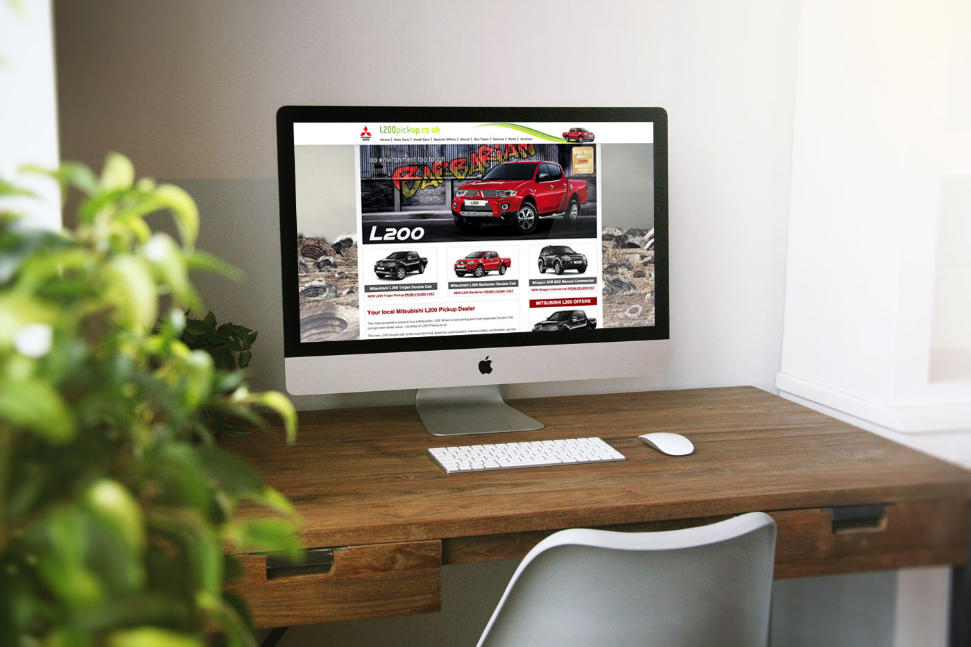 Browns Mitsubishi Advertising Campaign and Website Design