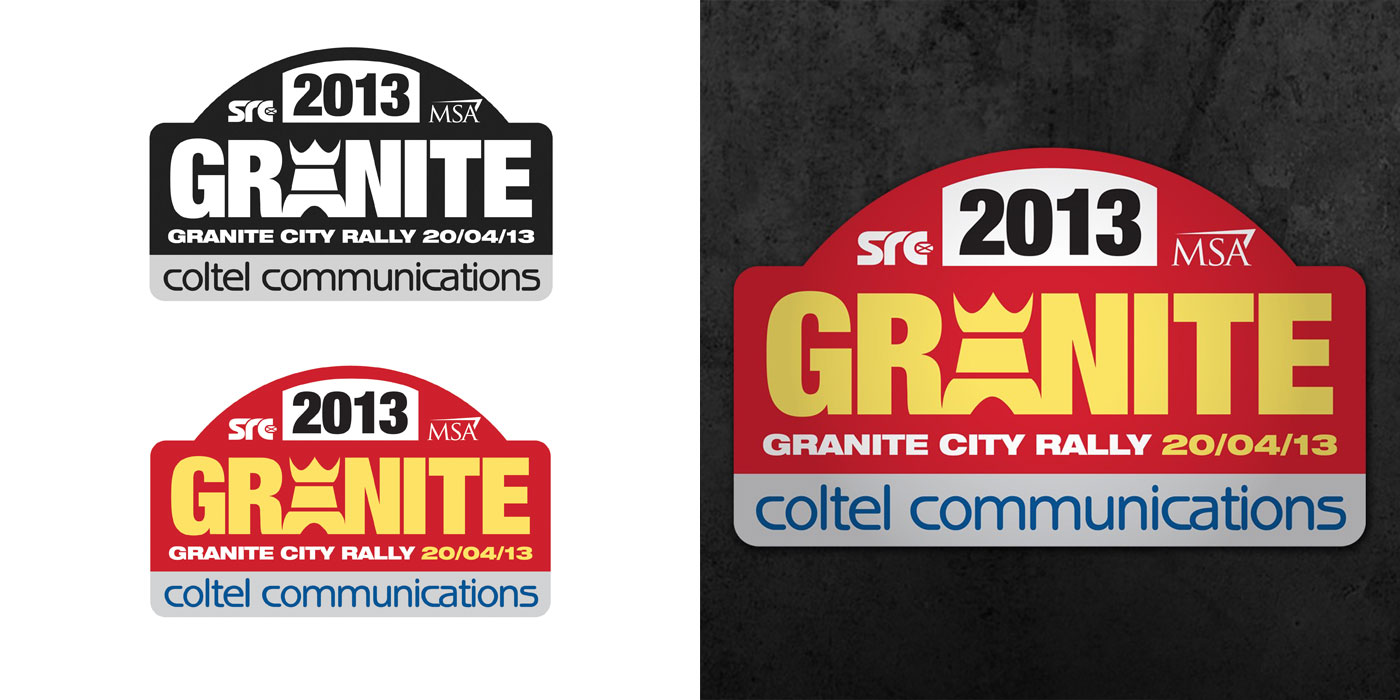 Granite City Rally Logo Design
