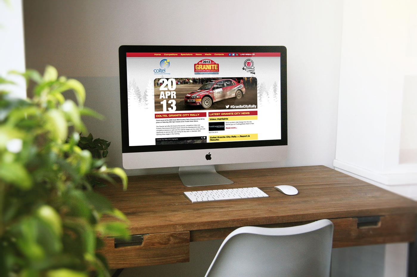 Granite City Rally WordPress Website Design