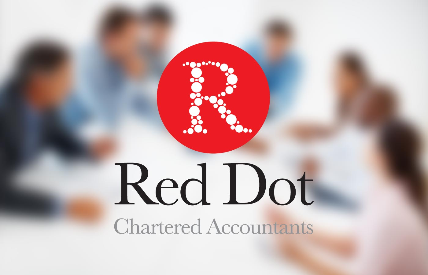 Red Dot Accountants Logo Design