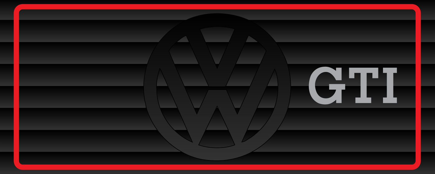 VW Golf GTI Infographic Designs