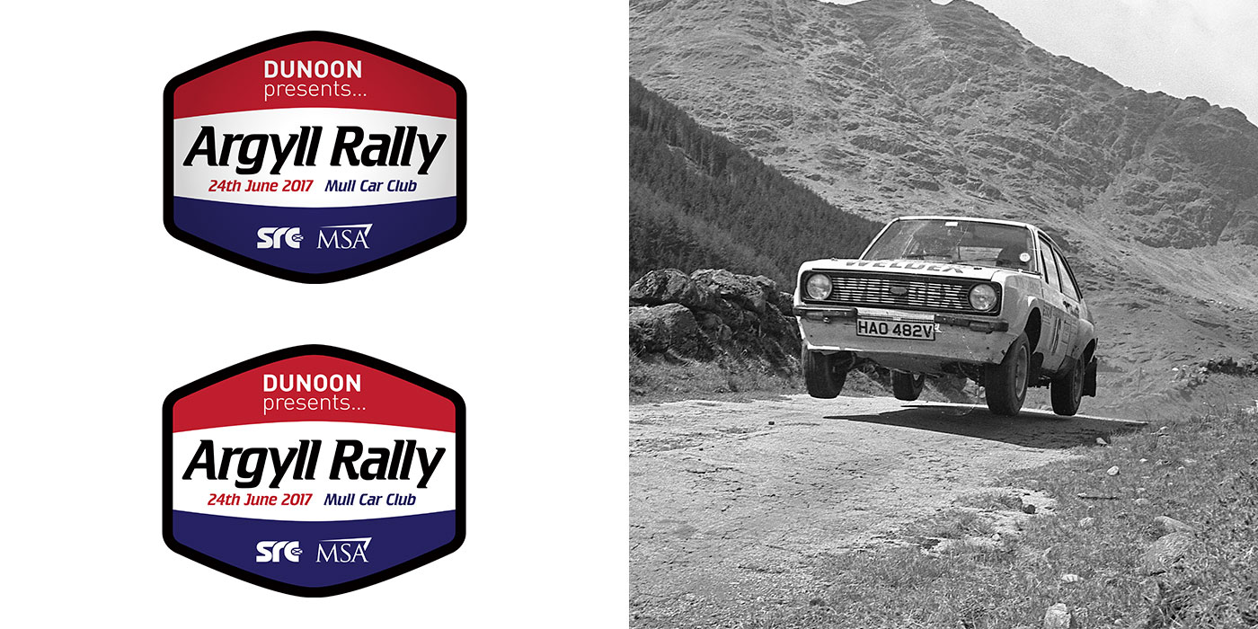 Argyll Rally Motorsport Logo Design