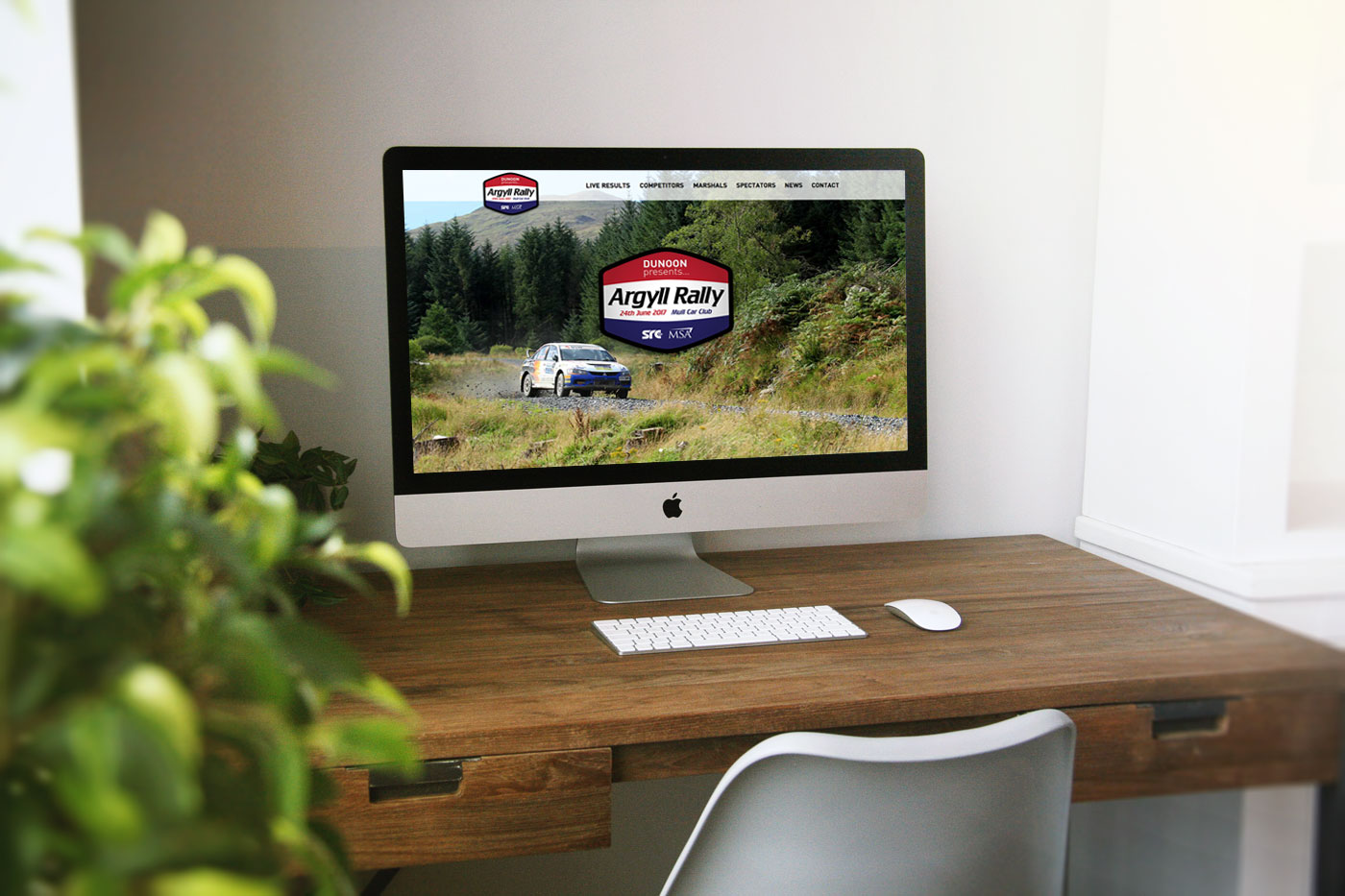 Rally Motorsport Website Designer