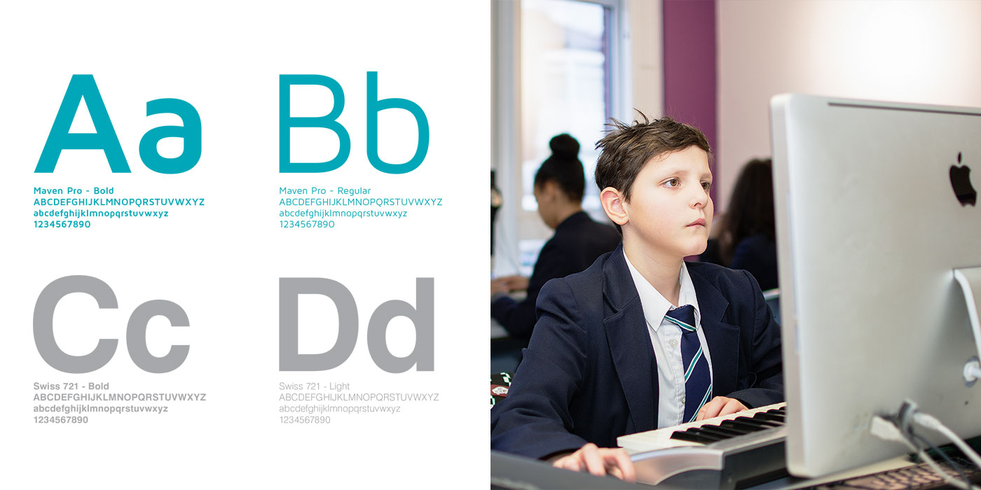 Stretford High School Website Design Brand Guidelines