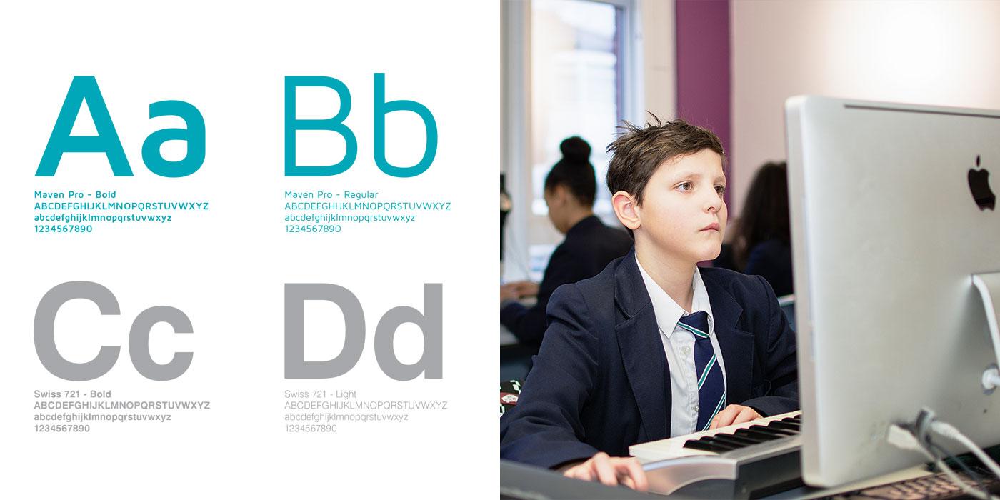 Stretford High School Website Design Brand Guidelines